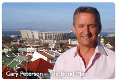 Gary Peterson, the Bond Man